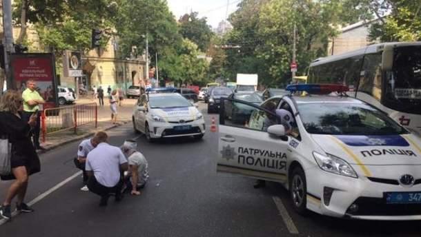 ДТП з патрульними сталось в Одесі