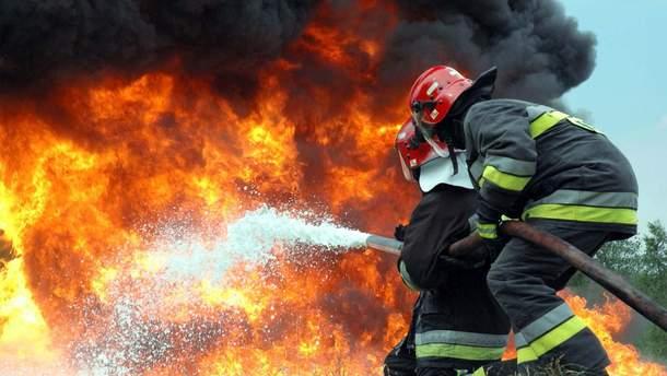 Лісові пожежі у Франції