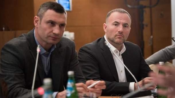 Віталій Кличко і Павло Фукс входять до оргкомітету з будівництва меморіалу