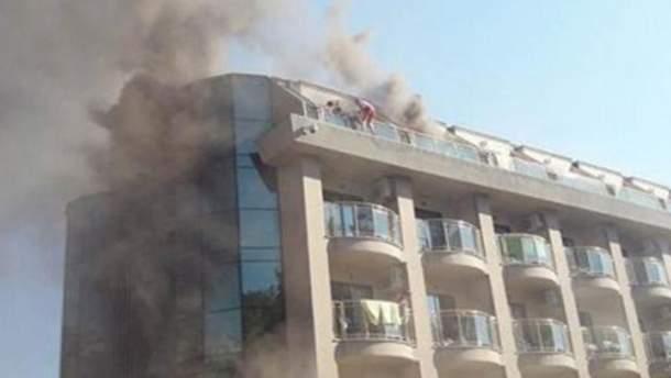 Пожежа в готелі Туреччини (Кемер)
