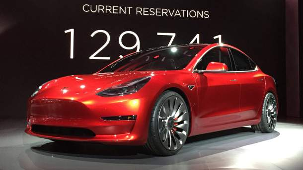 Бюджетный электрокар Tesla Model 3