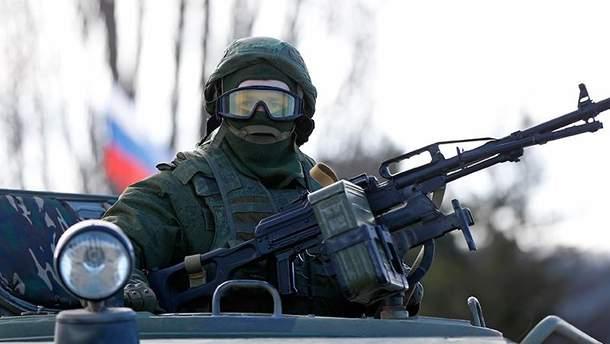 Російські військові на Донбасі (Ілюстрація)