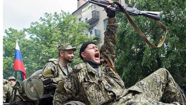 Російські бойовики на Донбасі