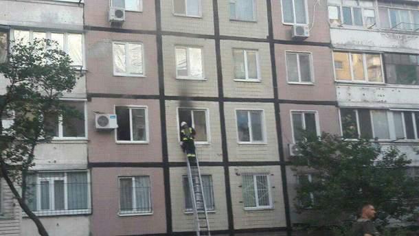 Наслідок вибуху на вулиці Тепличній у Дніпрі