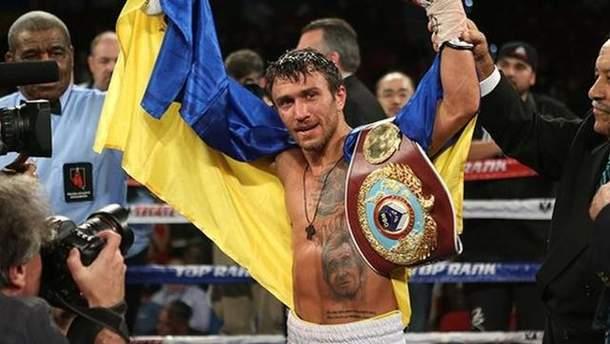 Василь Ломаченко успішно захистив титул чемпіона