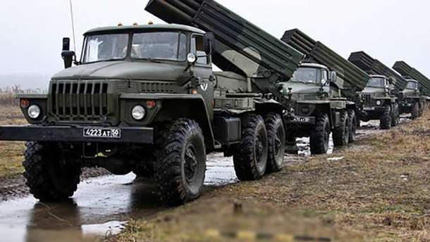 Бойовики на Донбасі отримали від Росії чимало боєприпасів та техніки