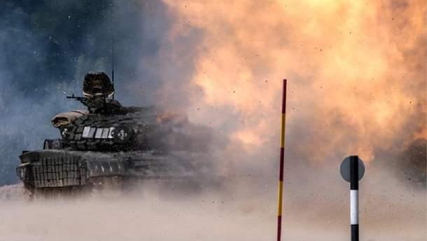 """Результат пошуку зображень за запитом """"рух військової техніки з росії на донбас"""""""