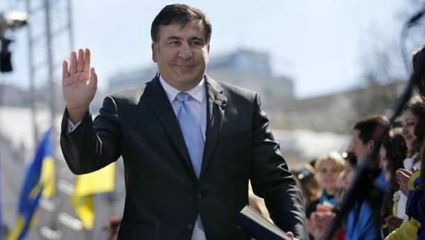 В Грузии по-разному относятся к скандальному Саакашвили