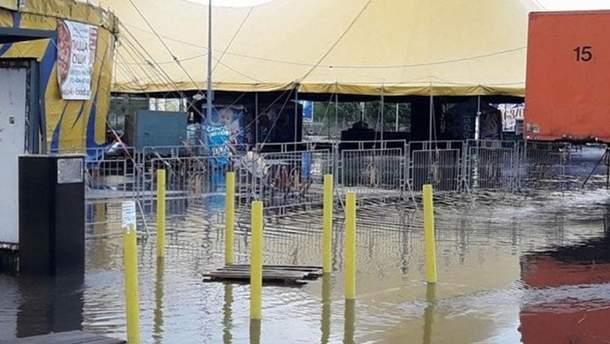 Наслідки потужної зливи в Одесі