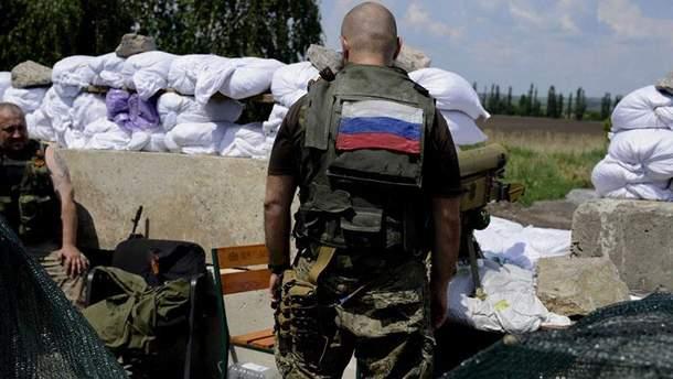 Бойовик на Донбасі (Ілюстрація)