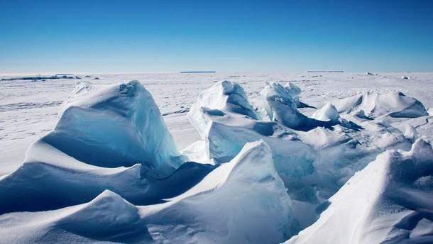 В Антарктиді знайшли 91 вулкан під льодом