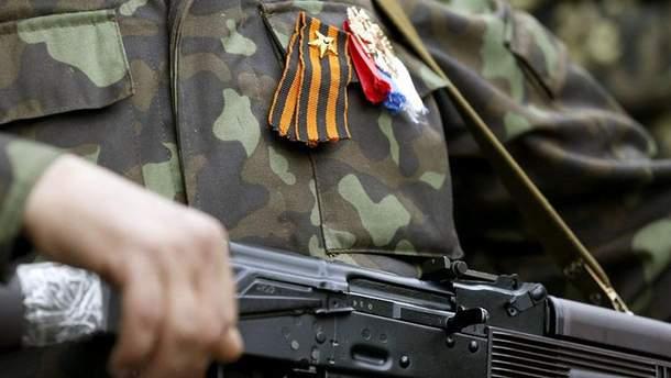 Бойовик вчинив аварію в Луганську (Ілюстрація)