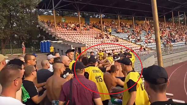 Бійка ультрас в Маріуполі