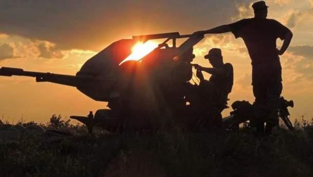 В зоні АТО бойовики поранили двох українських військових