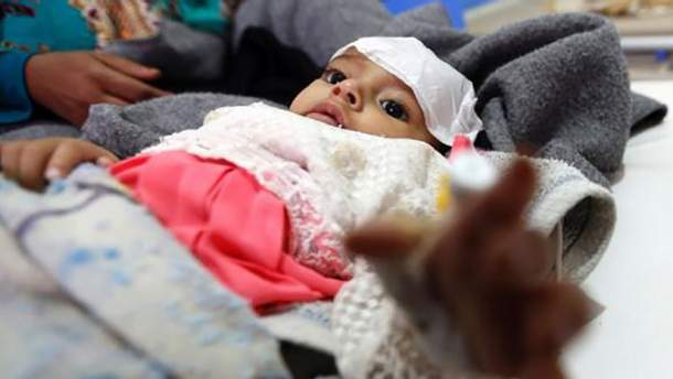 В Ємені зростає кількість людей, інфікованих холерою