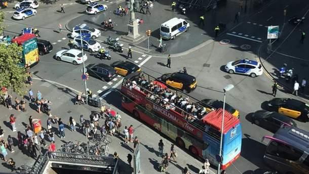 Теракт у Барселоні 2017: місце наїзду фургону на натовп у Барселоні