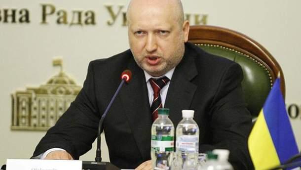 С Днем Независимости Украины государство поздравил Турчинов
