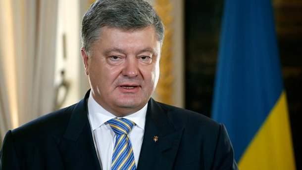 В День Незалежності України Порошенко згадав про Росію