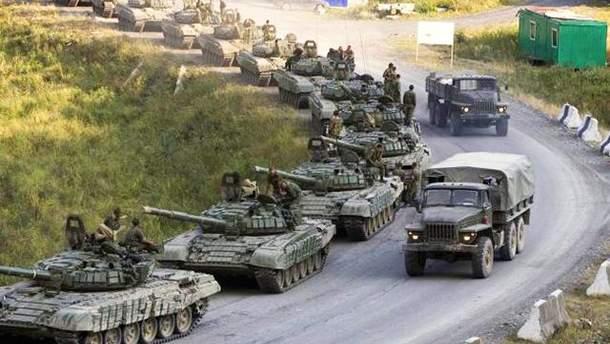 Бойовики на Донбасі приховують заборонену зброю та техніку