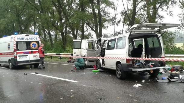 Аварія на Харківщині