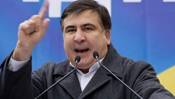 """Саакашвили устроит в Украине из своего возвращения """"политическое шоу"""""""