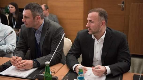 Віталій Кличко і Павло Фукс