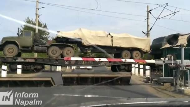 "Переброска дивизиона ракетного комплекта ""Точка-У"""