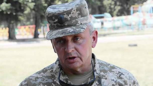 Руководитель Генштаба ВСУ Виктор Муженко