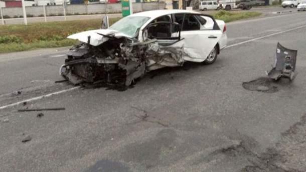 Смертельна аварія під Полтавою