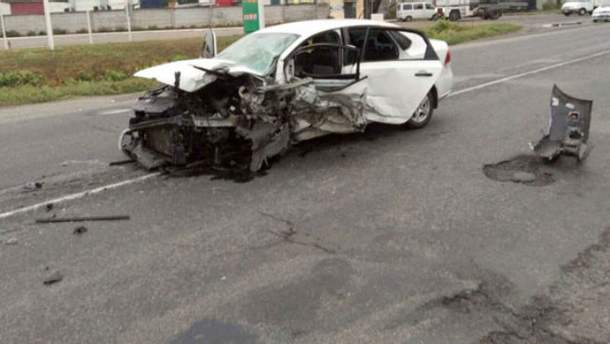 Смертельная авария под Полтавой