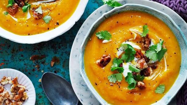 Покроковий рецепт гарбузового супу