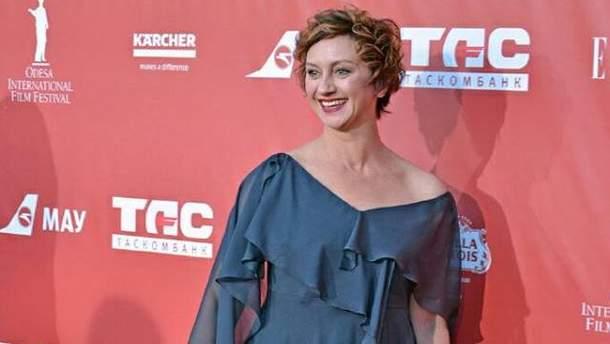 Известная украинская актриса получила награду за лучшую женскую роль на кинофестивале в Варне