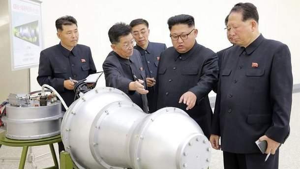 КНДР заявила про створення водневої бомби