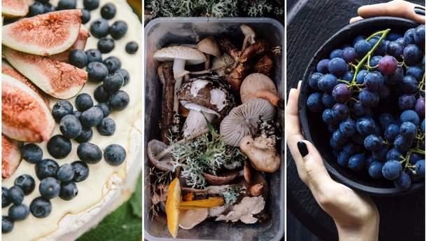 Сезонные продукты осени: список