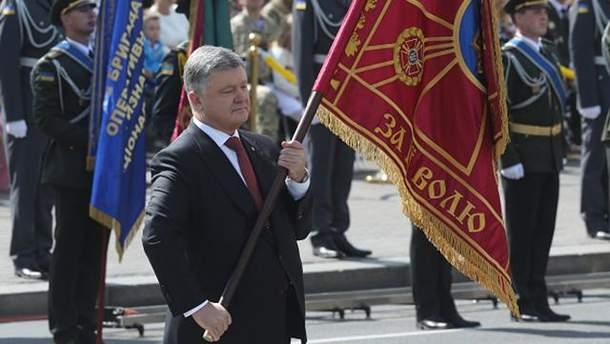 Порошенко наградил украинских военных