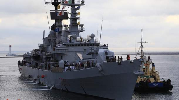 Есмінець Італії зайшов у порт Одеси