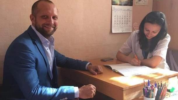 Поляков посетил психиатра
