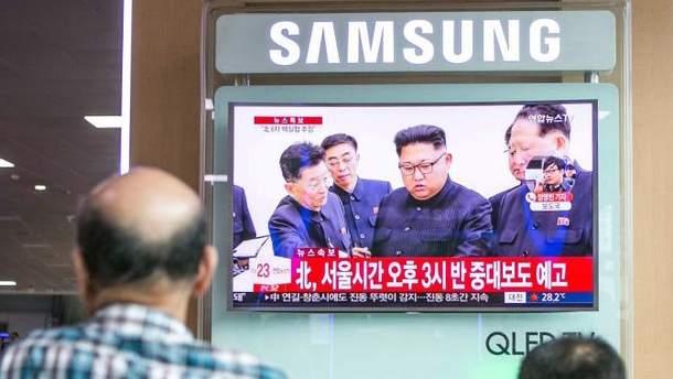 КНДР почала готувати запуск міжконтинентальної балістичної ракети