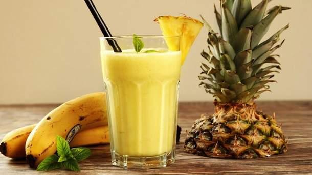 Рецепт приготування ананасового квасу
