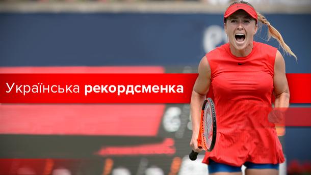 Еліні Світоліній – 23: успіхи найкращої тенісистки України