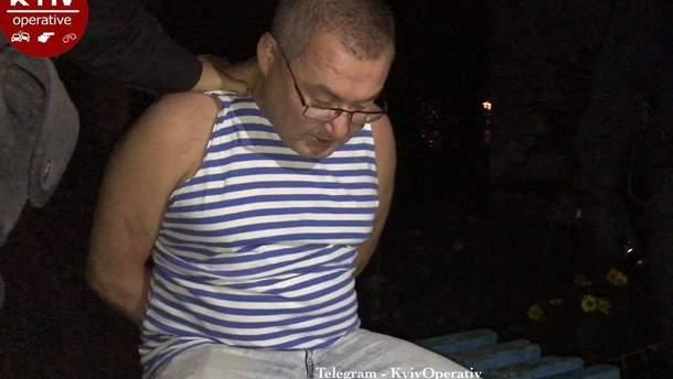 Пьяный мужчина открыл стрельбу в Киеве