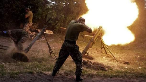 Боевики 36 раз обстреляли позиции сил АТО на Донбассе