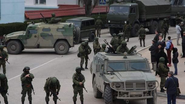 Россия начала выводить из Донбасса военную технику