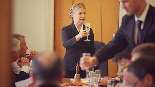 Юлия Тимошенко в первый день новой сессии парламента
