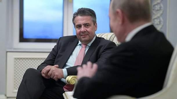 Глава МИД Германии приветствовал заявление Путина относительно миротворцев на Донбассе