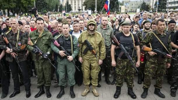 """Боевики """"ЛДНР"""" готовятся к военным учениям"""