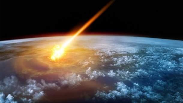 Падіння метеориту в Канаді: фото падіння 5 вересня