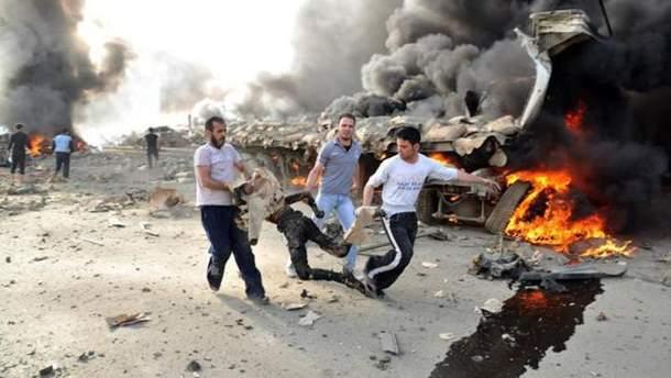 Химическая атака в Сирии
