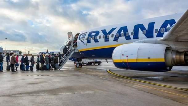 Ryanair змінює правила перевезення ручної поклажі