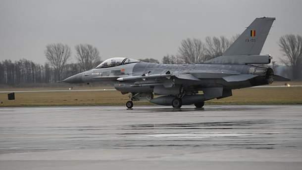Бельгійський винищувач  F-16